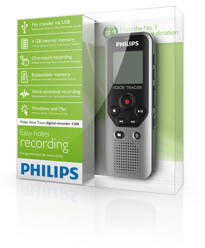 Philips Voice Tracer DVT1200 - 5