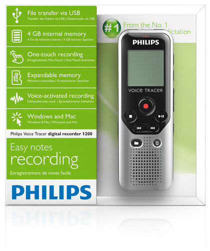 Philips Voice Tracer DVT1200 - 6