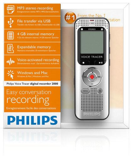Philips Voice Tracer DVT2000 - 7