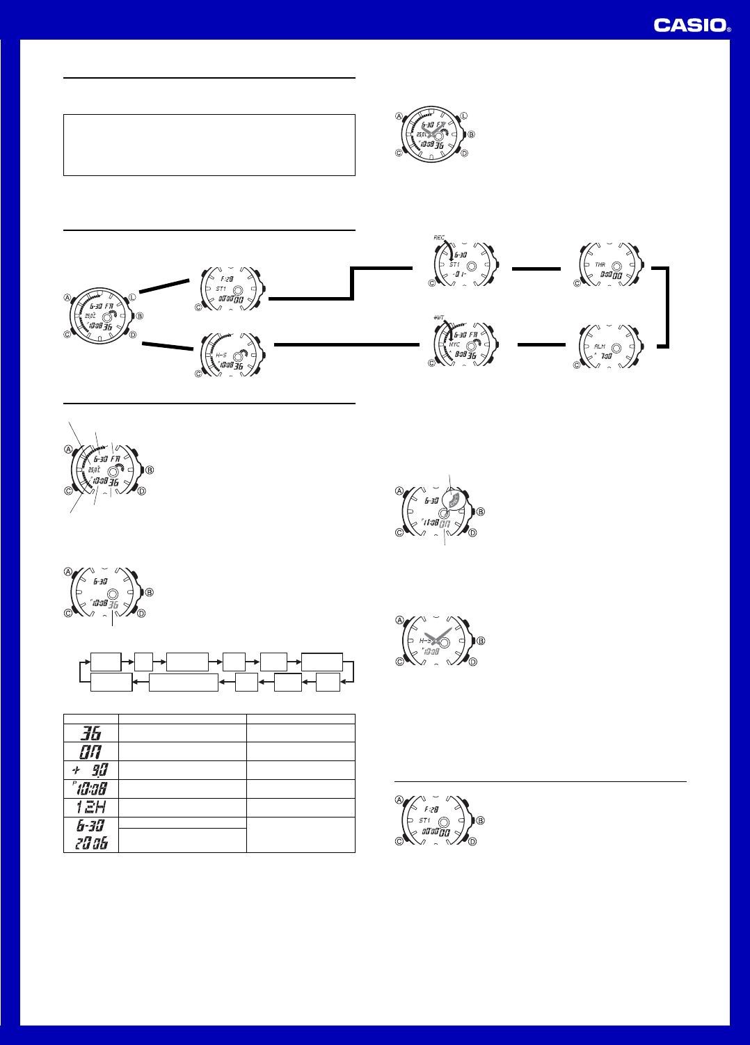 1a51803b06a3 📖 Instrukcja obsługi Casio EFA119BK-1A (4 stron)
