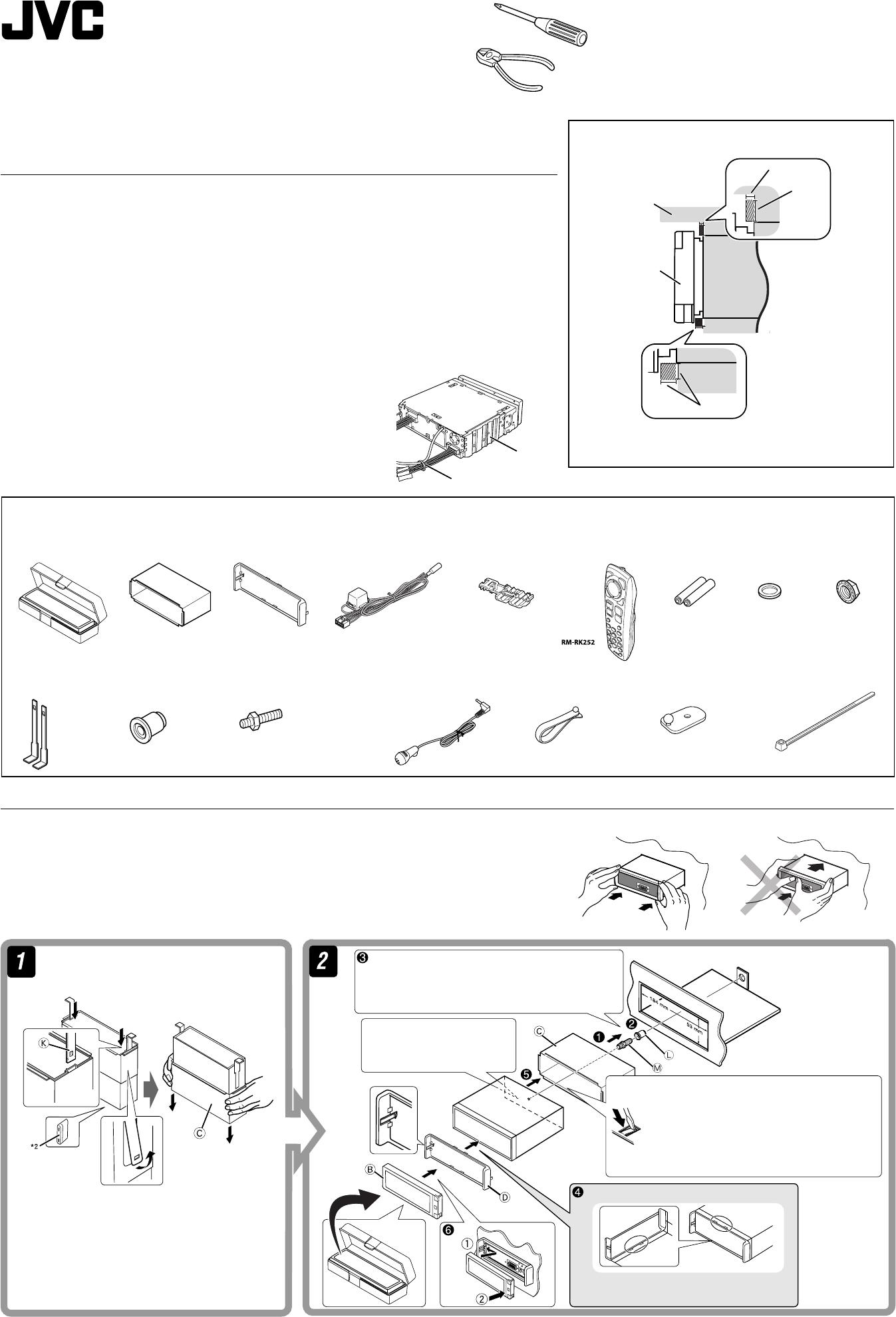 Instrukcja Obsugi Jvc Kd Avx55 Avx1 Wiring Diagram
