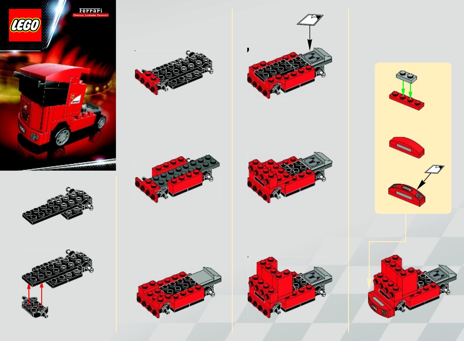 Инструкции лего машины с картинками