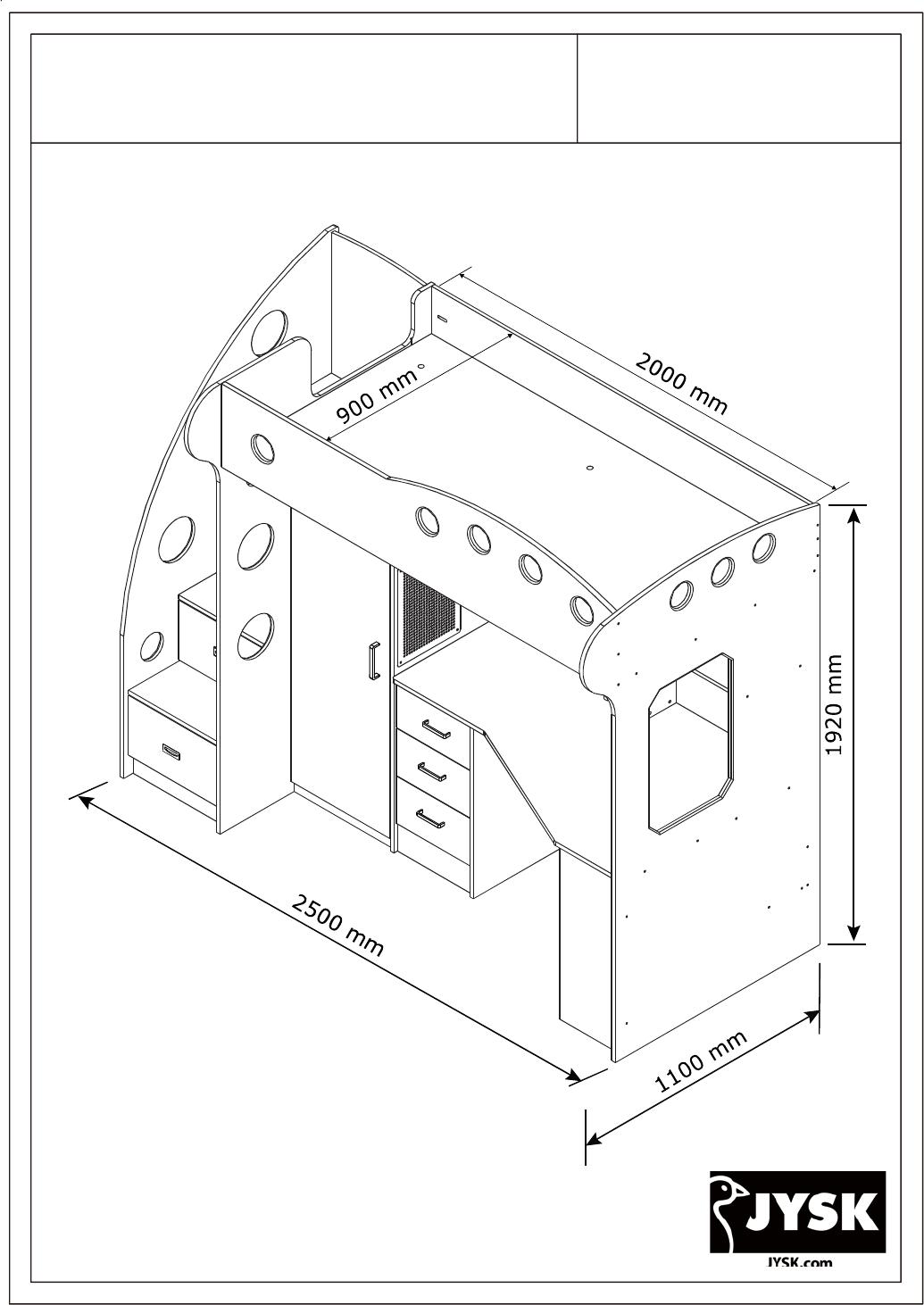 Instrukcja Obsługi Jysk Uldum 48 Stron