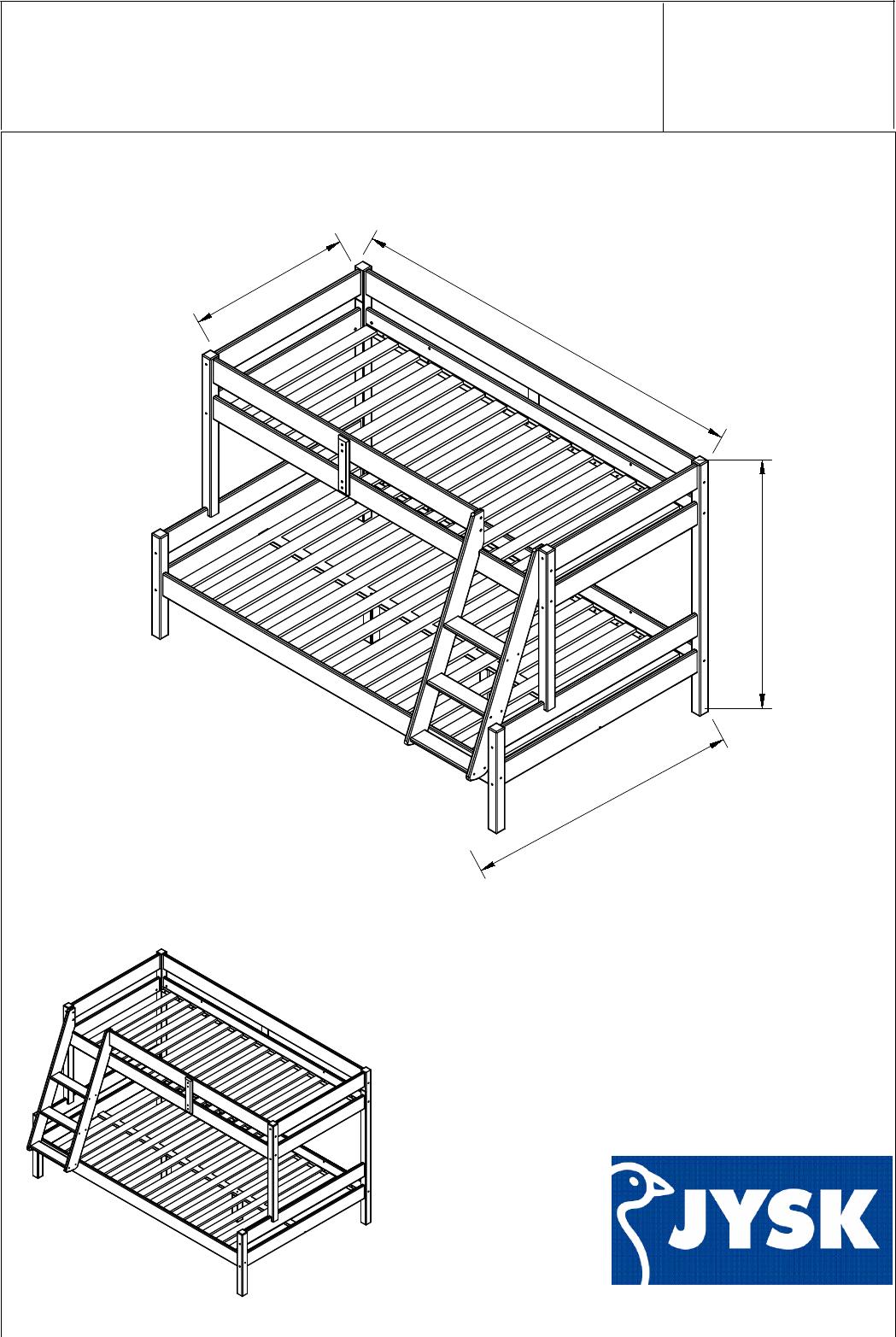 Instrukcja Obsługi Jysk Hjallerup 15 Stron