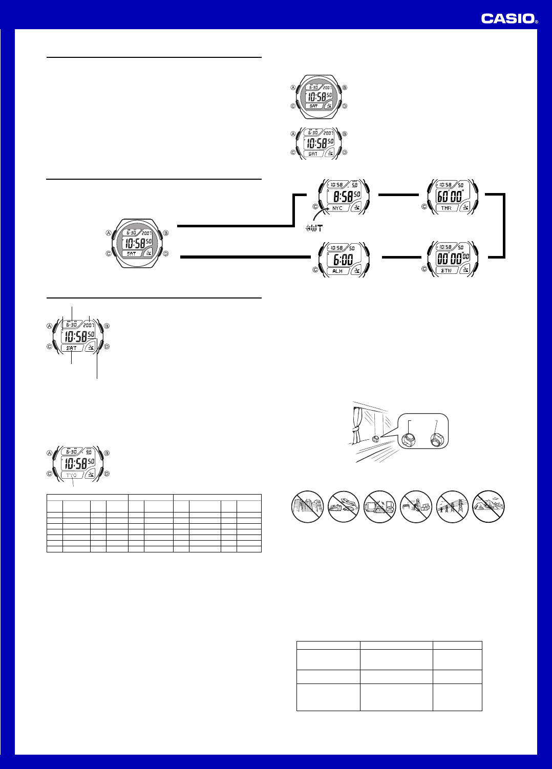 instrukcja obs ugi casio wv 58e 1avef rh instrukcjaobslugipdf pl Casio Exilim User Manual casio wave ceptor wv-58a manual